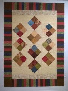 CAMP quilt top