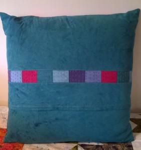 Stitch Club pillow back B