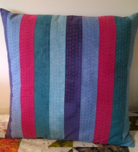 Stitch Club pillow front A